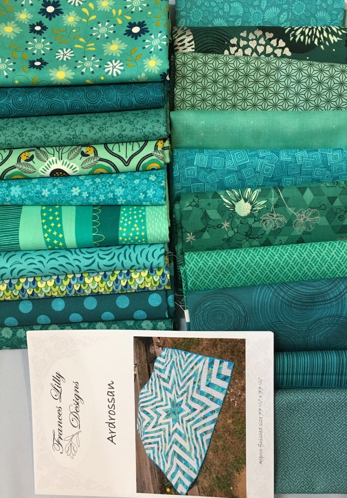 Ardrossan fabric starter kit with pattern