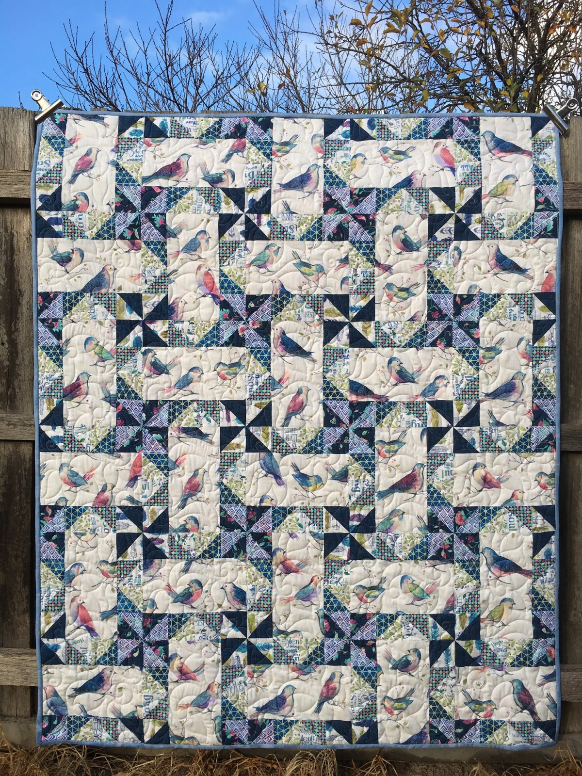 Spring Song quilt kit