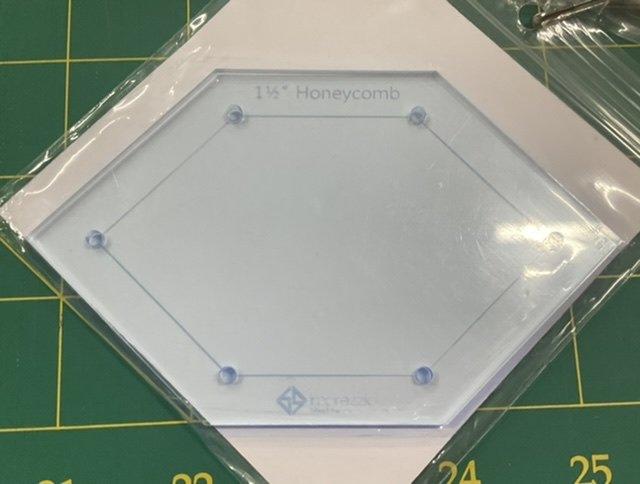 Imprezzio EPP 1 1/2 inch honeycomb  template