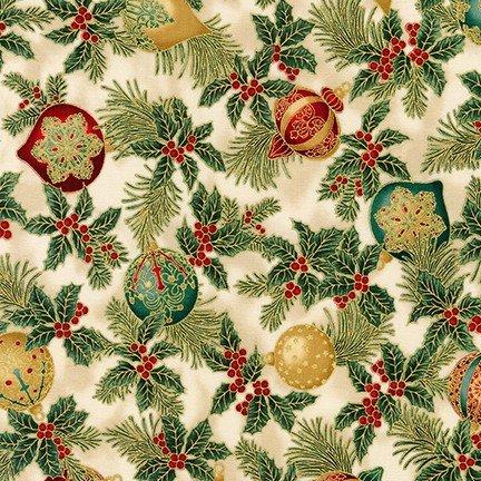 Holiday Flourish metallic 38223