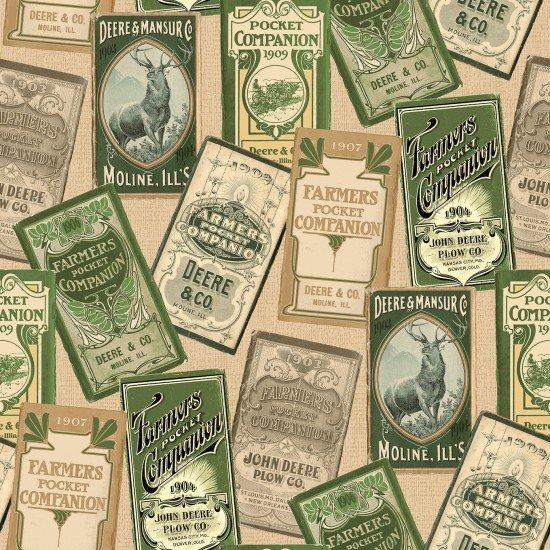 John Deere vintage labels