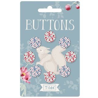 Tilda woodland buttons 14 mm