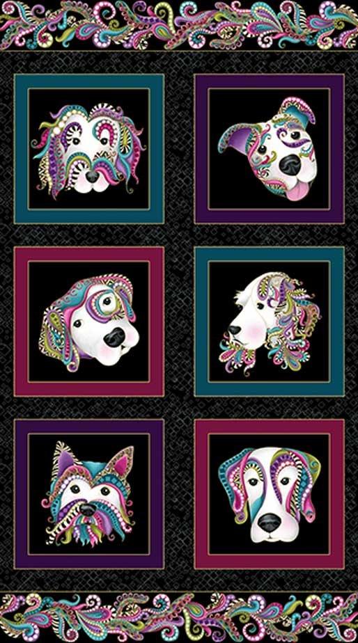 Dog On It Panel 5012