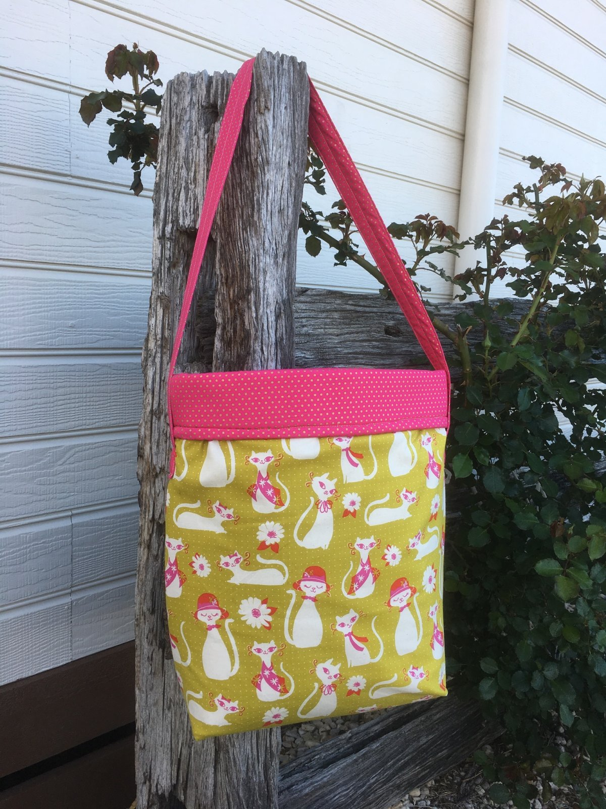 And she sews tote pattern