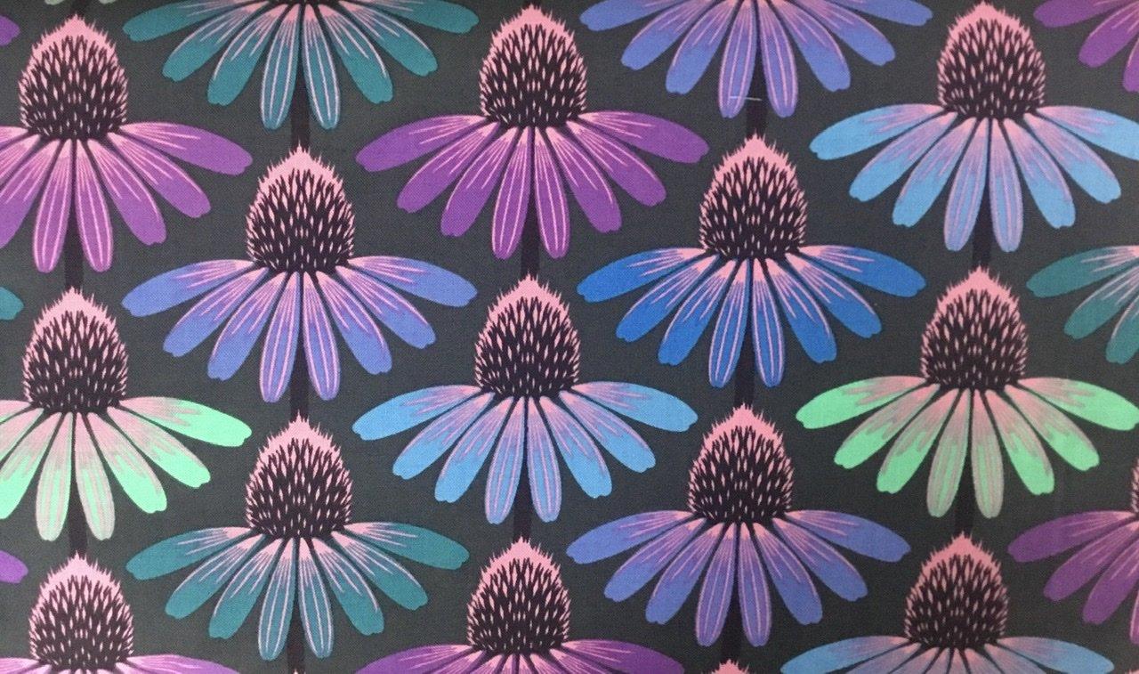 Floral Retrospective 149  Echinacea Amethyst