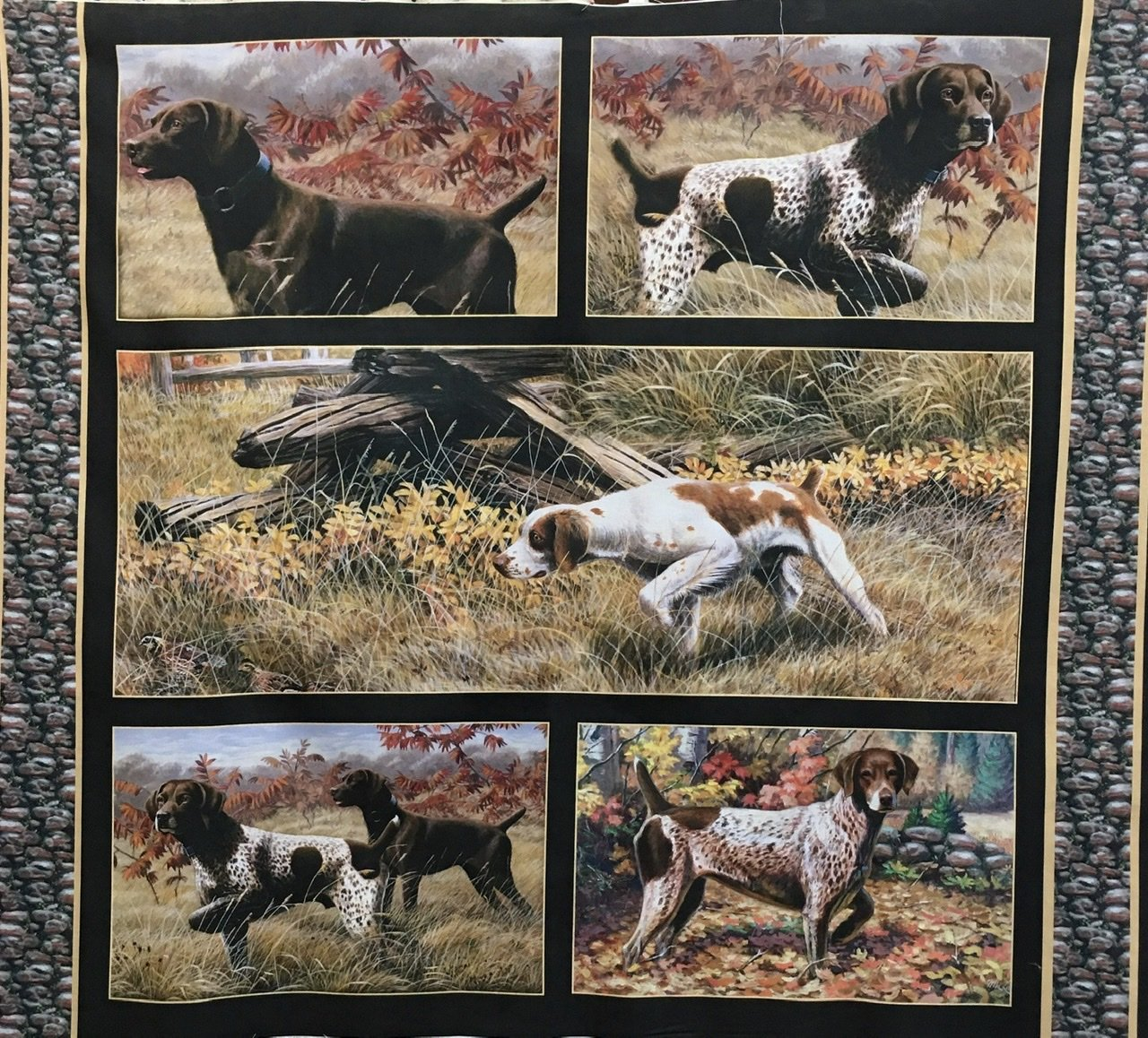 Pointer dogs panel