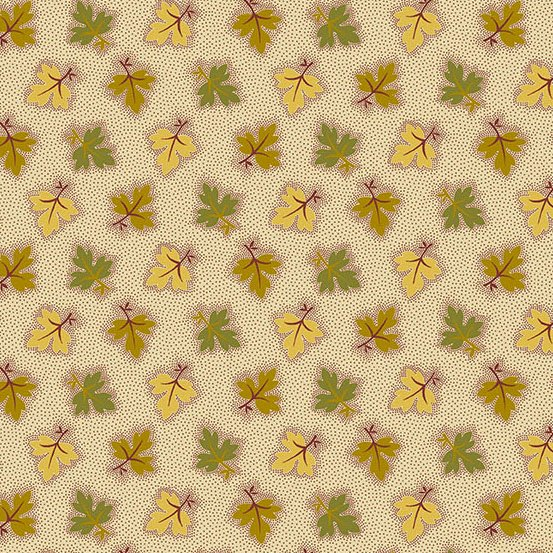 MALING ROAD Oak Leaves gold green