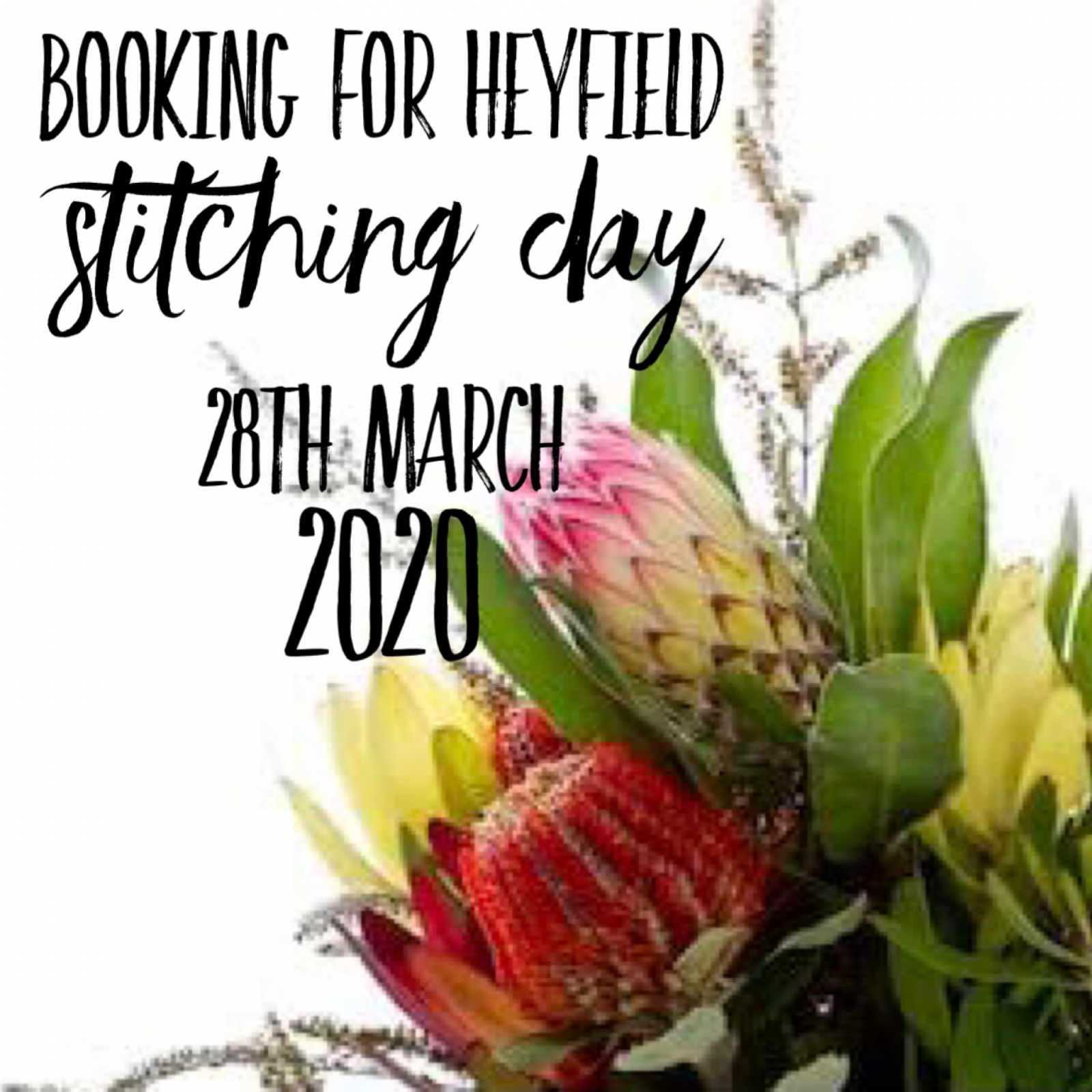 HEYFIELD STITCHING DAY 2020