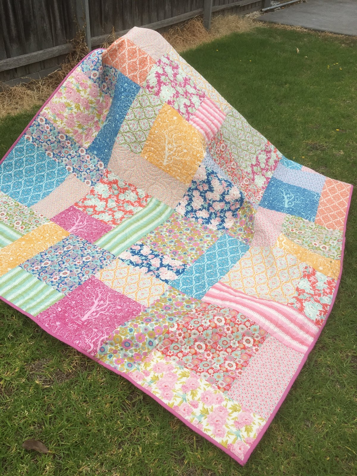 Tilda Super Slick quilt top kit