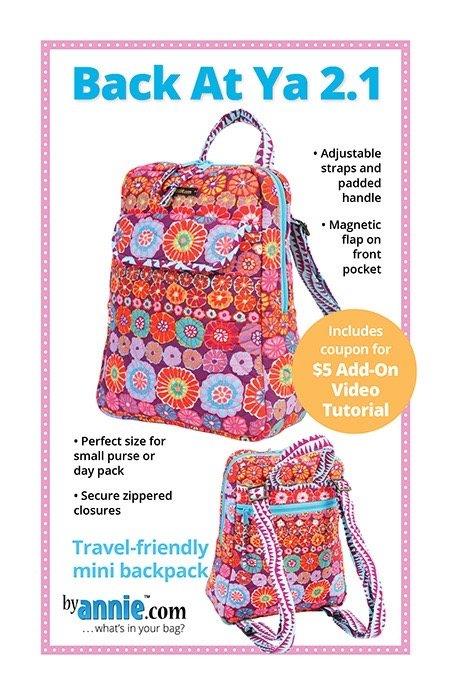 Back at Ya 2.1 backpack