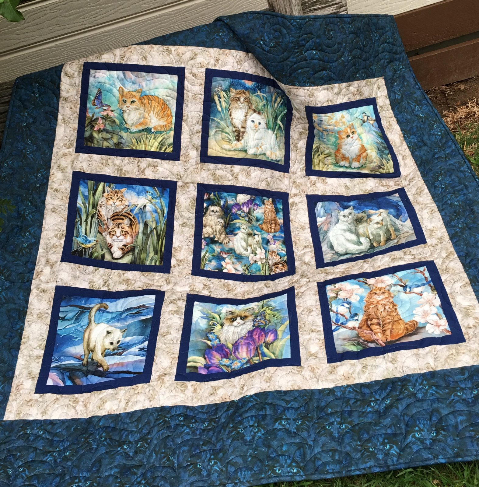 Be Pawsitive quilt top kit
