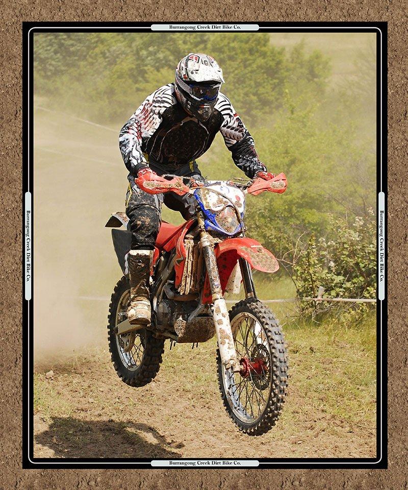 Dirt bike panel 7091 B