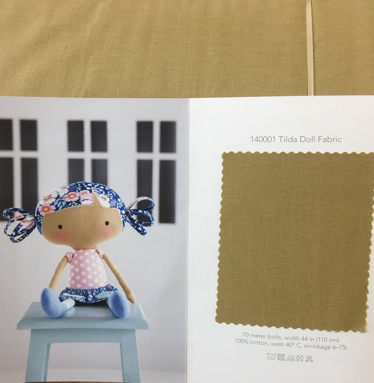 Tilda doll fabric