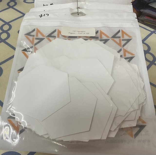Imprezzio EPP 1 1/2 hexagon papers pack of 195