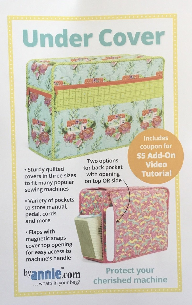Under Cover sewing machine cover