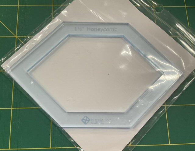 Imprezzio EPP 1 1/2 inch honeycomb I Spy template