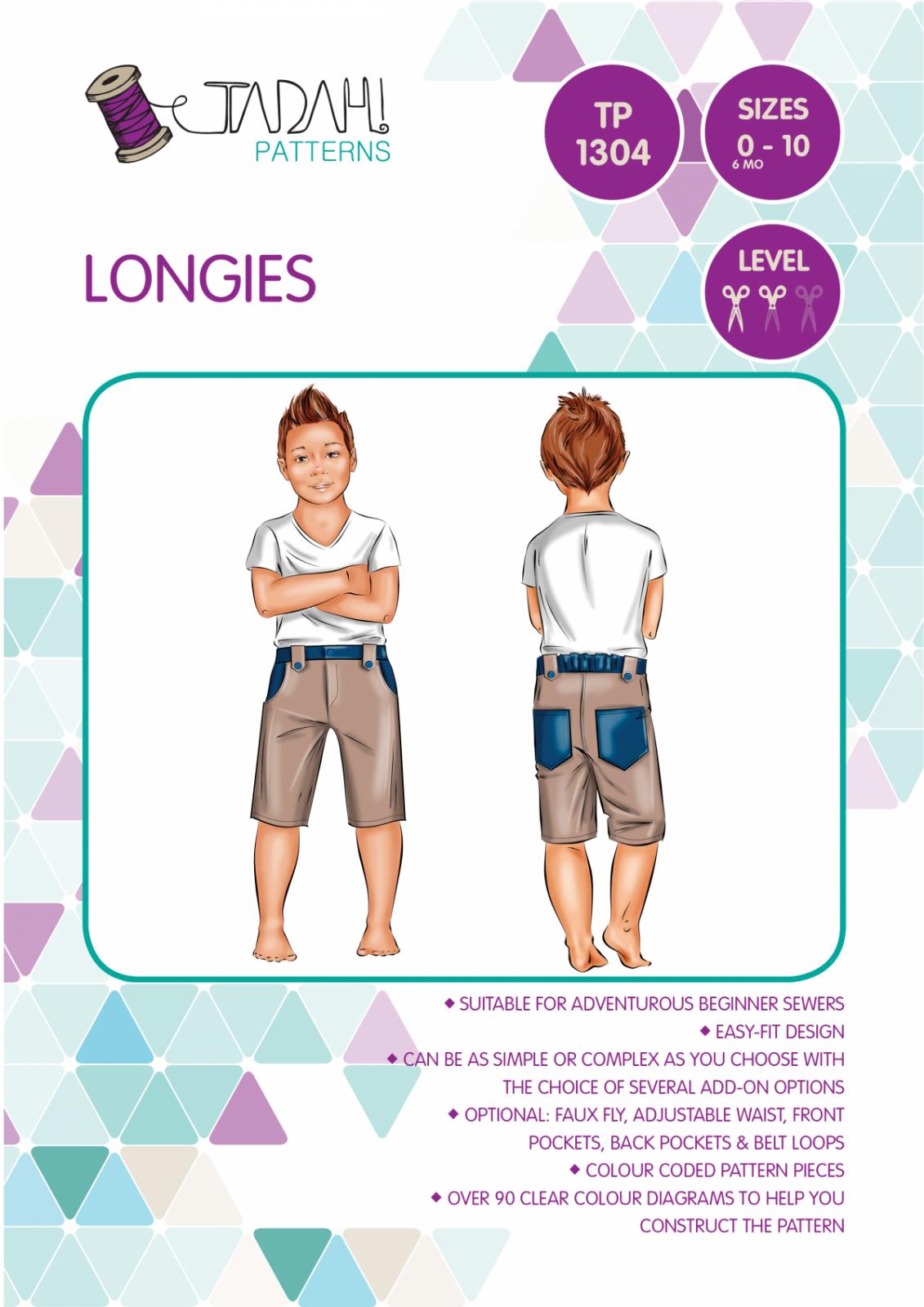Tadah Long shorts Longies