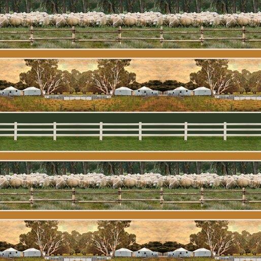 Merino Muster Farm stripe