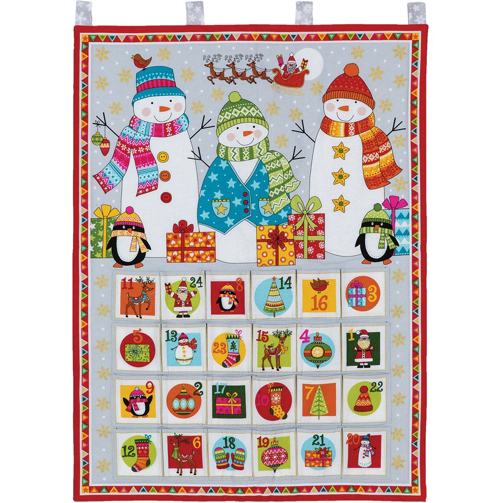 Advent Calendar Snowmen