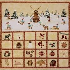 Christmas Advent Calendar Stof Christmas