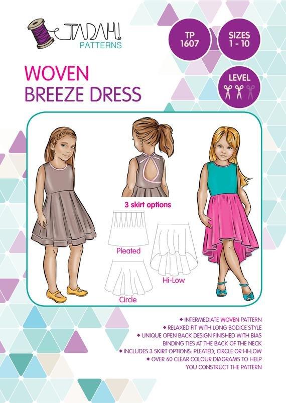 Tadah Woven Breeze dress