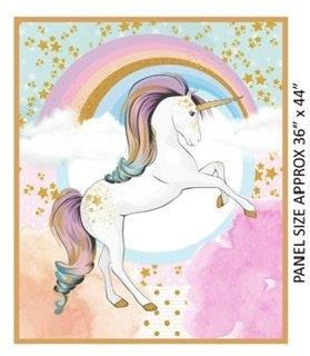 Rainbow Unicorn panel