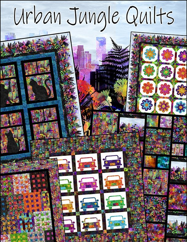 Urban Jungle Quilts pattern book