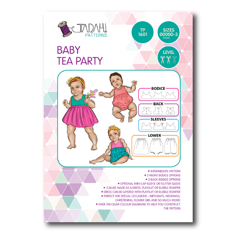 Baby Tea Party romper and dress