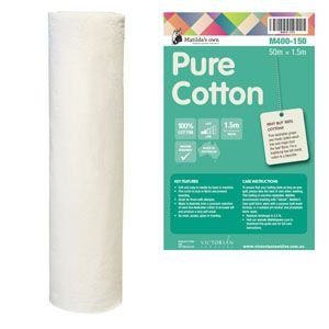 Matildas Own Pure Cotton batting