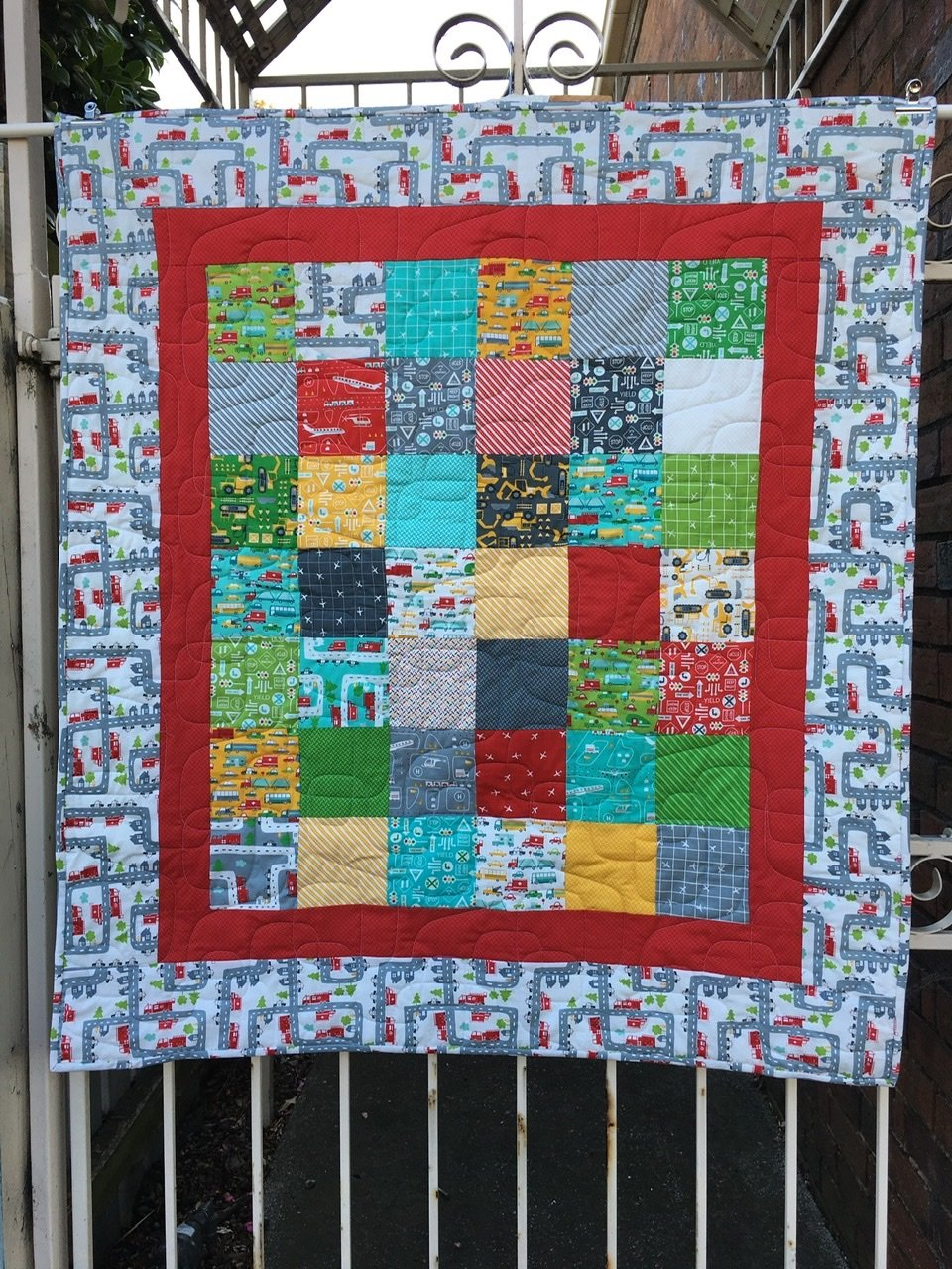 On The Go childs quilt