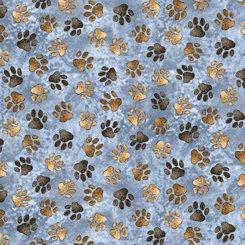 Labrador dogs paws 27289 blue