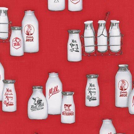 Down on the Farm Milk Bottles 154243
