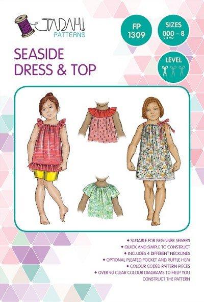 Tadah Seaside dress and top multi size