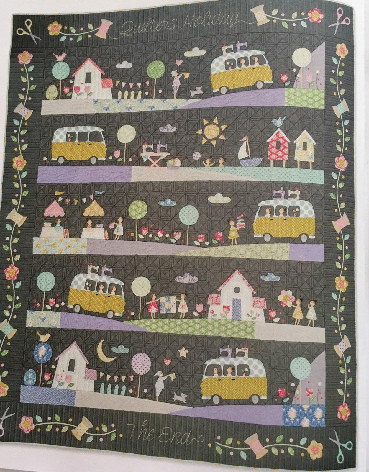 Tilda Happy Campers Homespun Block of the Month fabric kit