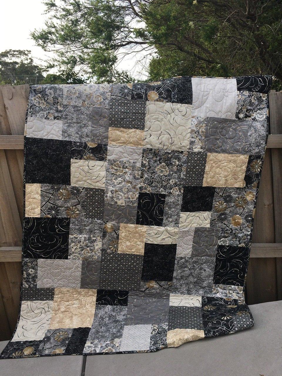 Moonlight Garden Quilt Kit
