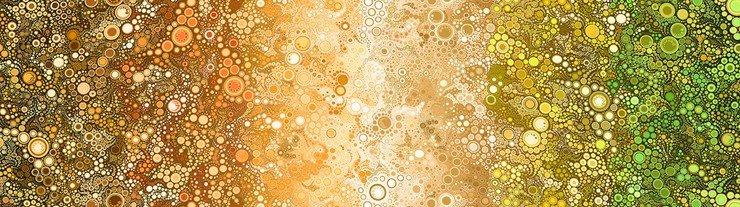 Effervescence bubbles Earth