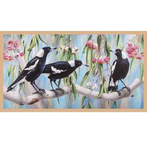 Wildlife Art DV3186 Magpies