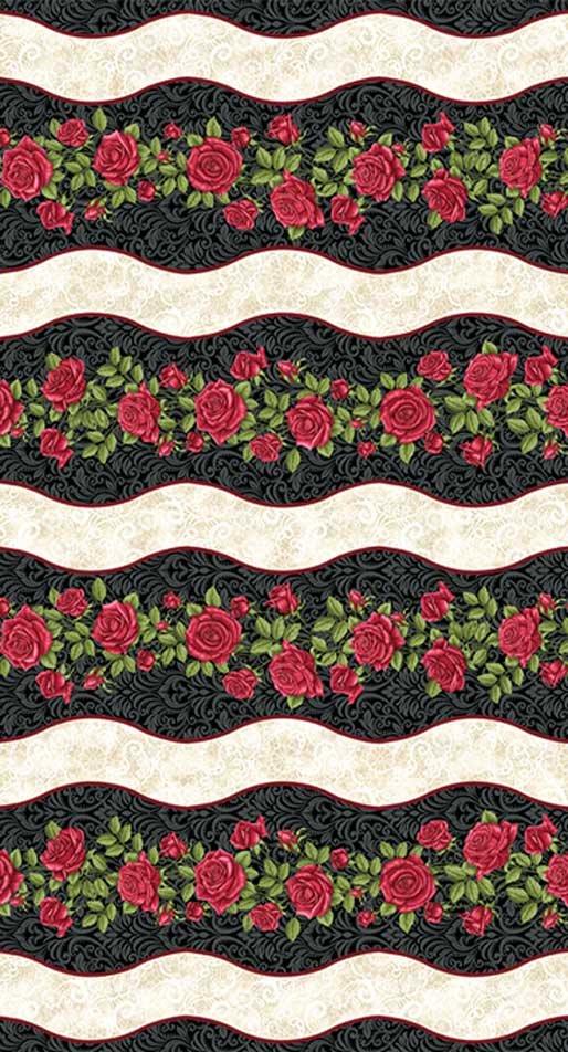 Festival of Roses stripe 3612