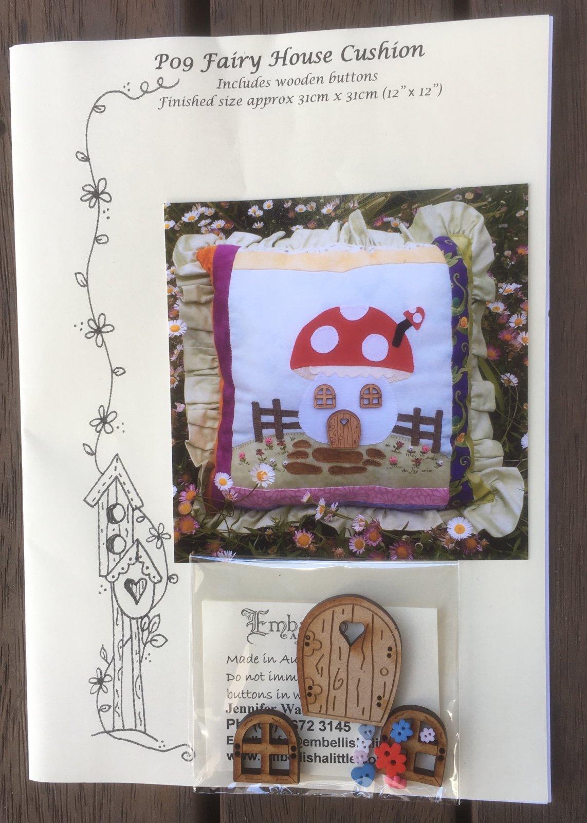 Fairy House Cushion