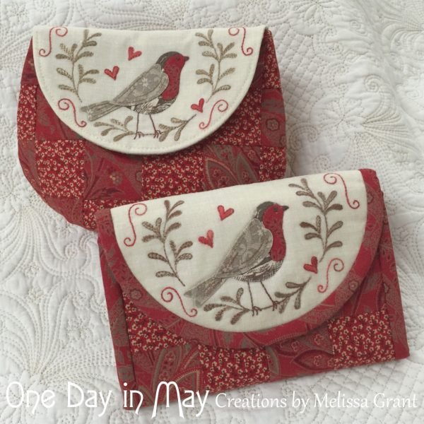 Red Robin Pouch and Jewellery keep kit