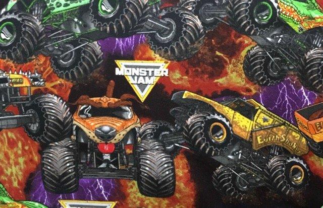 Monster Jam packed Monster Trucks