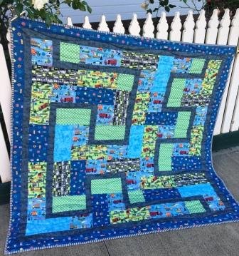 Let us get going quilt top kit