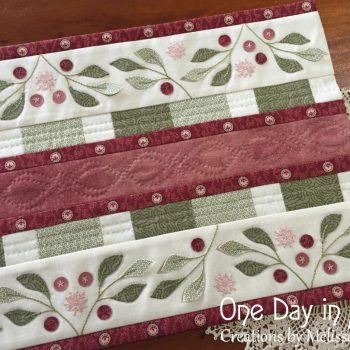 Lily Pilly table Runner