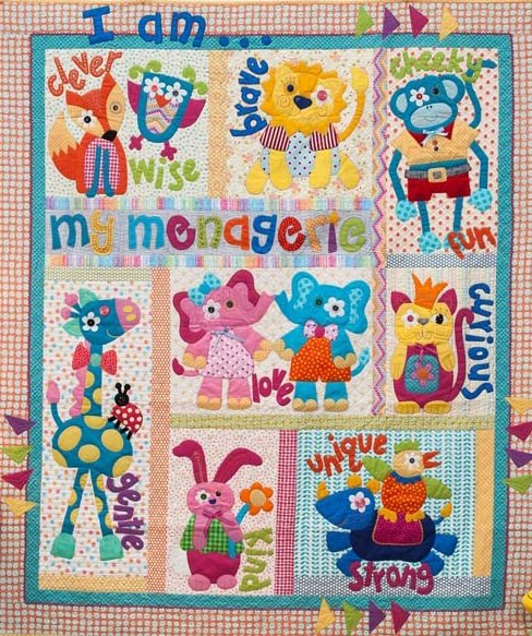 My Menagerie Pattern set