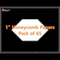 Imprezzio 1 honeycomb papers 65 pack