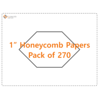 Imprezzio 1 honeycomb papers 270 pack