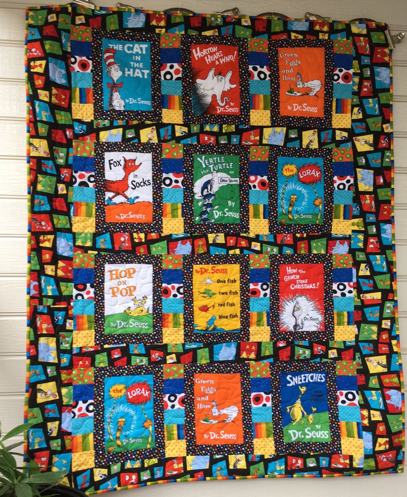 Dr Seuss Covers quilt kit