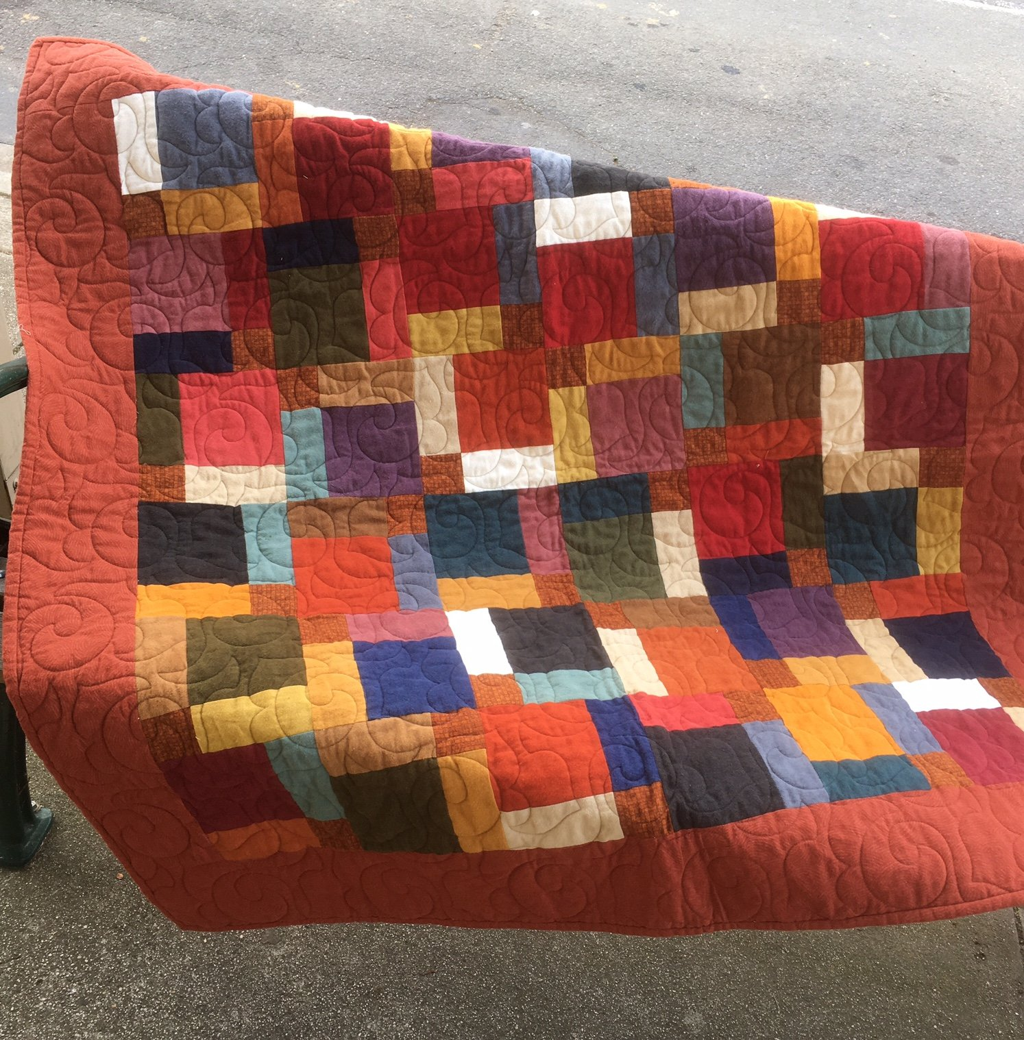 Super Splits Flannel Quilt Kit