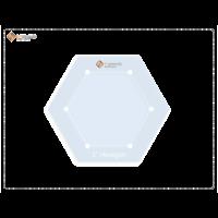 Imprezzio 2 hexagon template with 3/8 seam