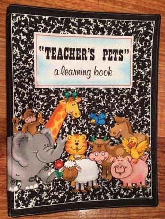 Teachers Pets book panel